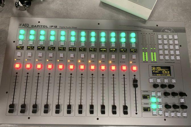 New desk for Studio 2